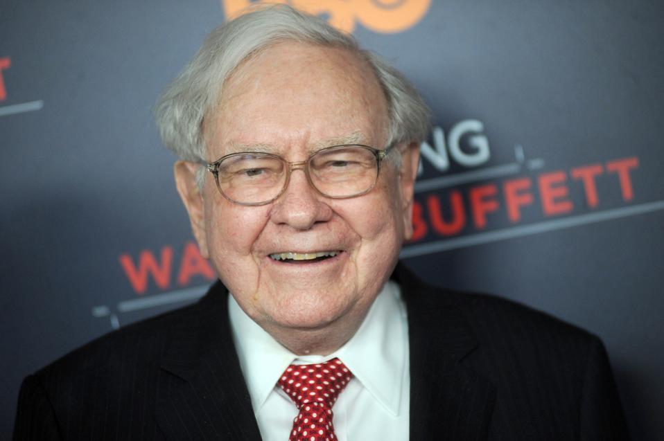 Warren Buffet at the premiere of ″Becoming Warren Buffet″
