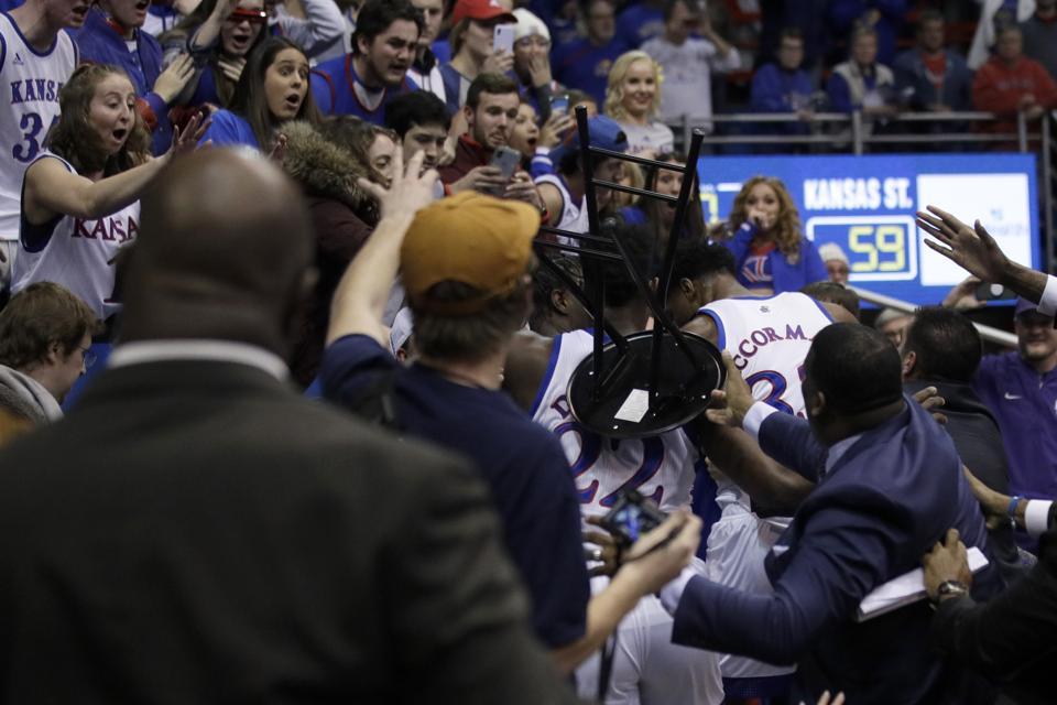 Kansas St Kansas Basketball