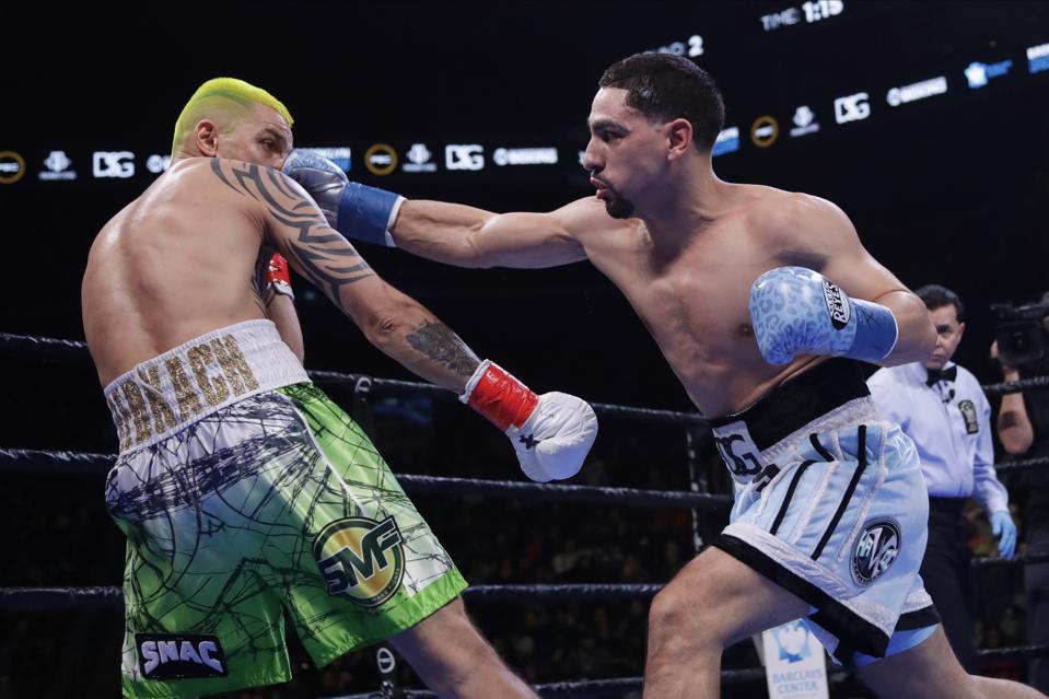Garcia Redkach Boxing
