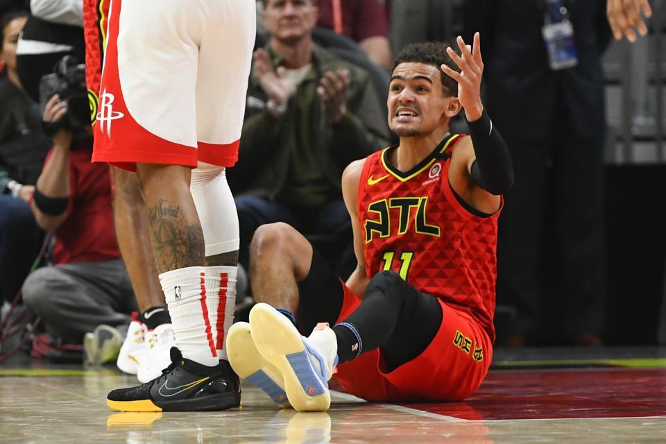 Rockets Hawks Basketball