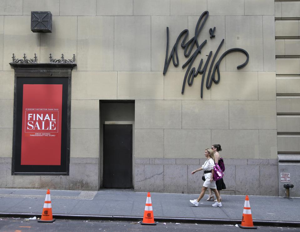 Retail Sales Lord and Taylor