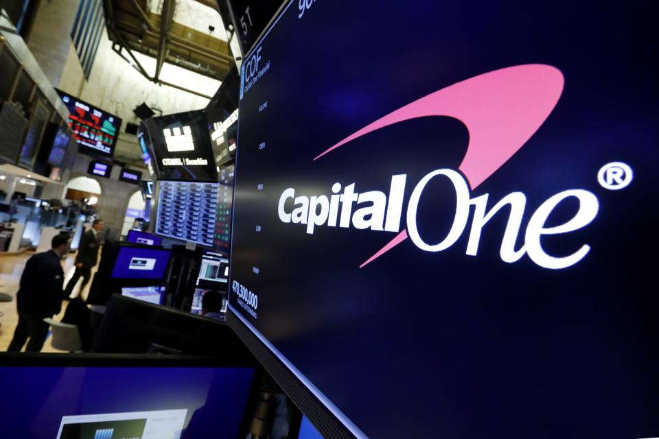Financial Markets Wall Street Capital One Data Breach