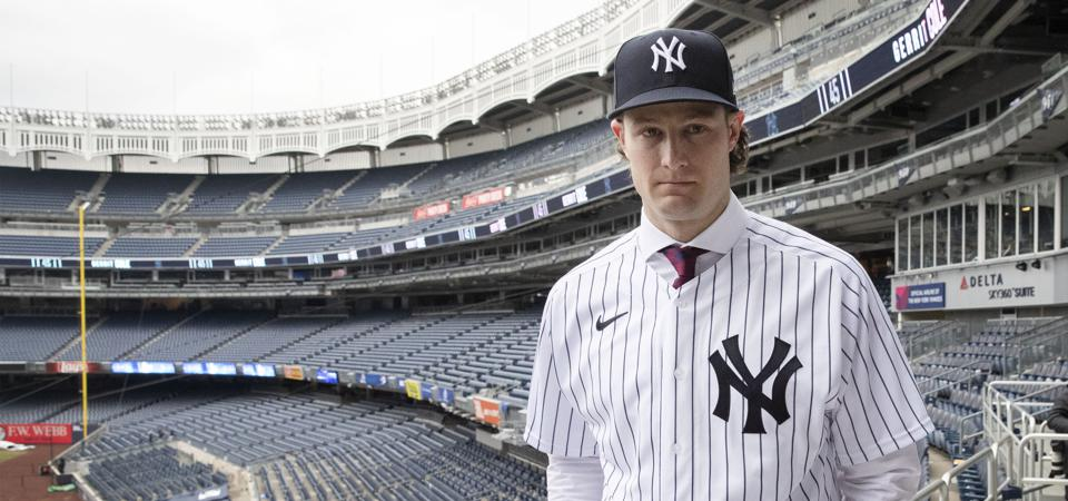 Yankees Cole Baseball