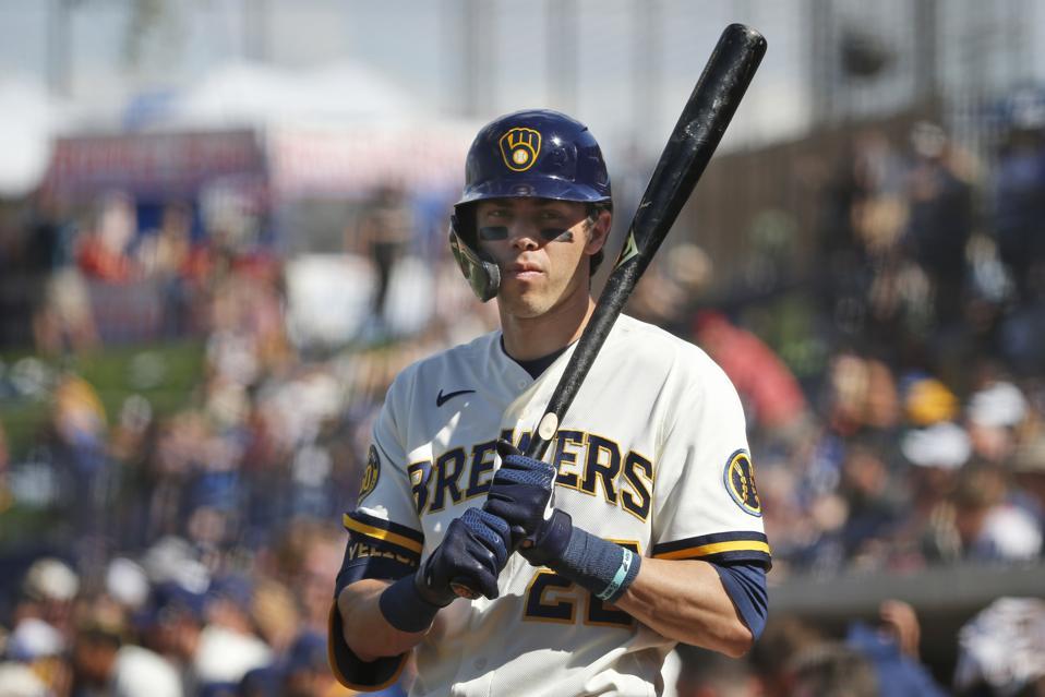 Angels Brewers Spring Baseball