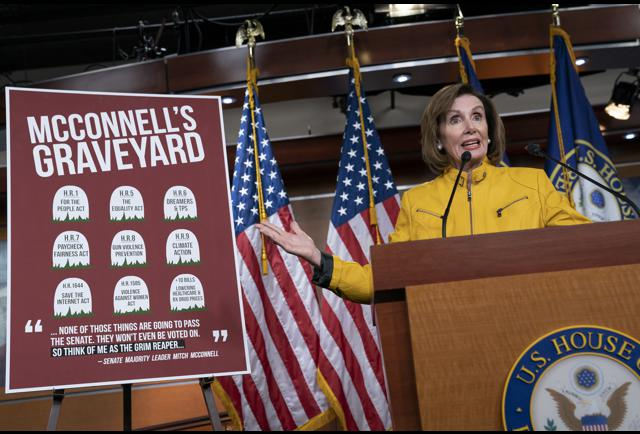 Leader Hosing: Is Bashing Mitch Pelosi's Best Fundraising Pitch?