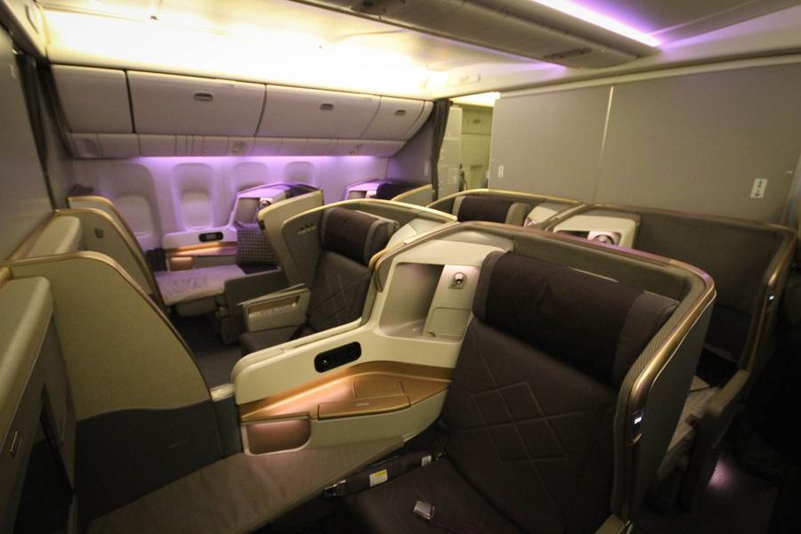 Boeing 777-300ER (77W) Three Class