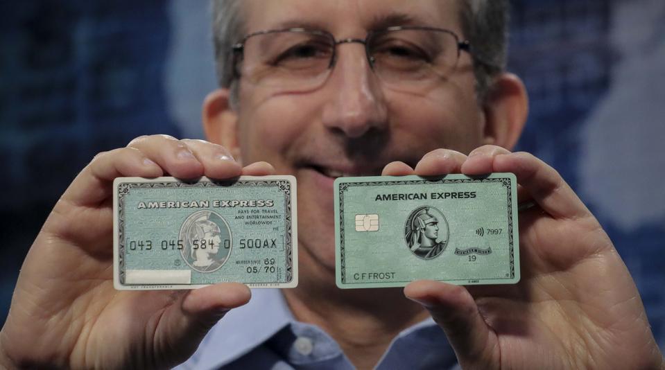 AmEx Green Card 50 Years