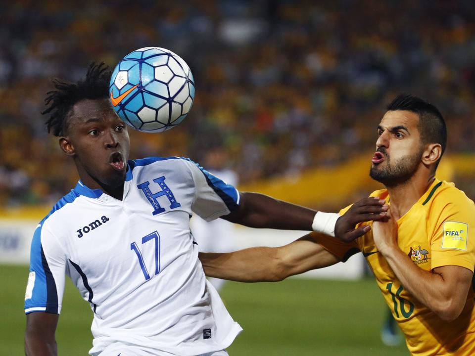 Australia Honduras WCup Soccer