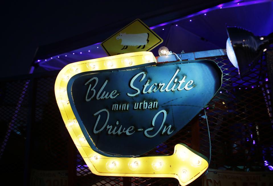 Blue Starlite Drive-In