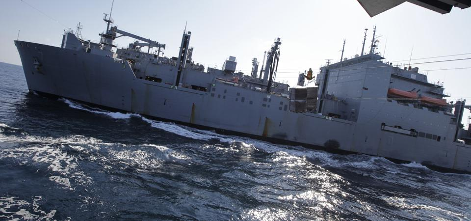 Adding missile launch capability to cargo ships boosts America's combat power