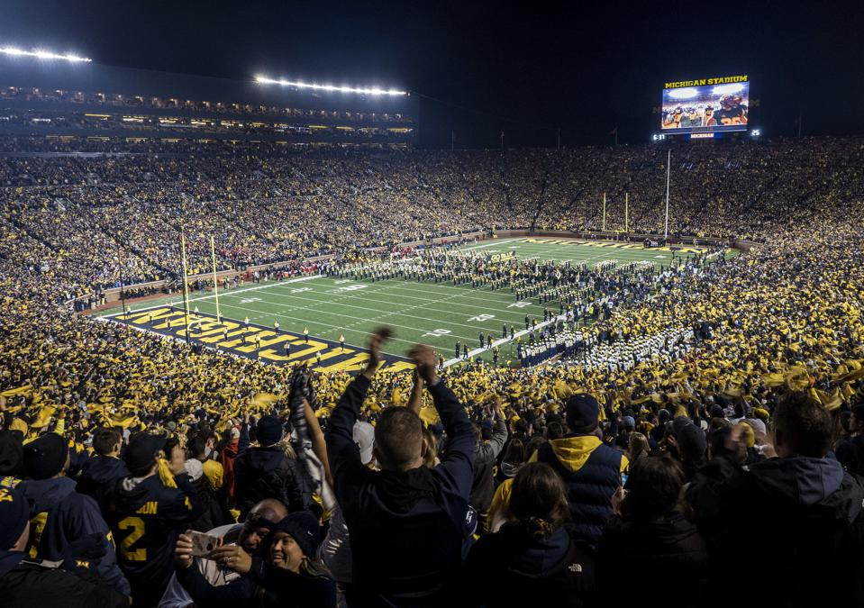 Here's How Much Homeowners Can Make Off The College Football Craze (It's A Lot)
