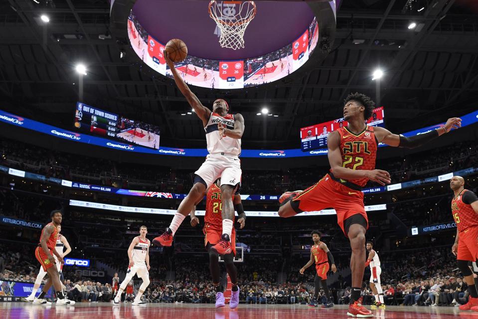 Hawks Wizards Basketball