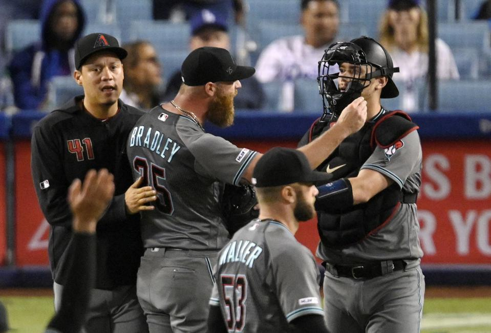 Archie Bradley And Kenley Jansen Are Closers Heading In Opposite Directions