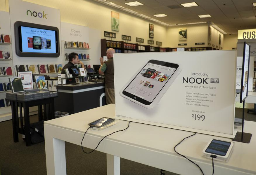Barnes & Noble NOOK Sales Decline