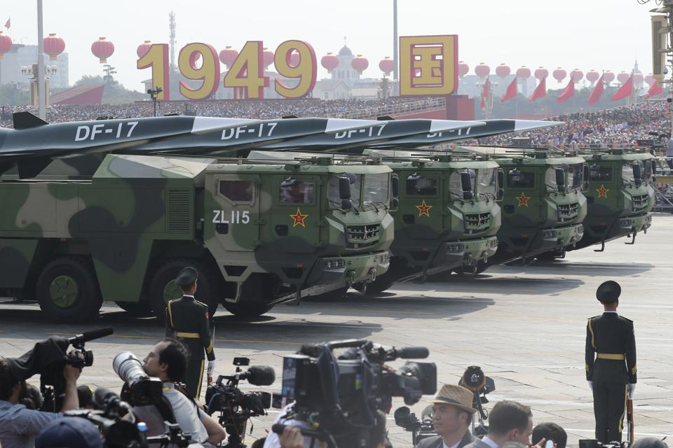 DF-17 Missiles on Parade