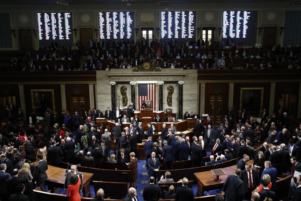 U.S. House of Representatives voting.
