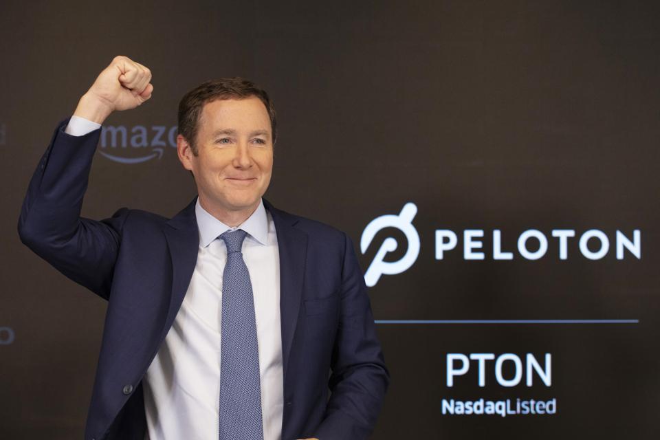 Financial Markets Wall Street Peloton IPO